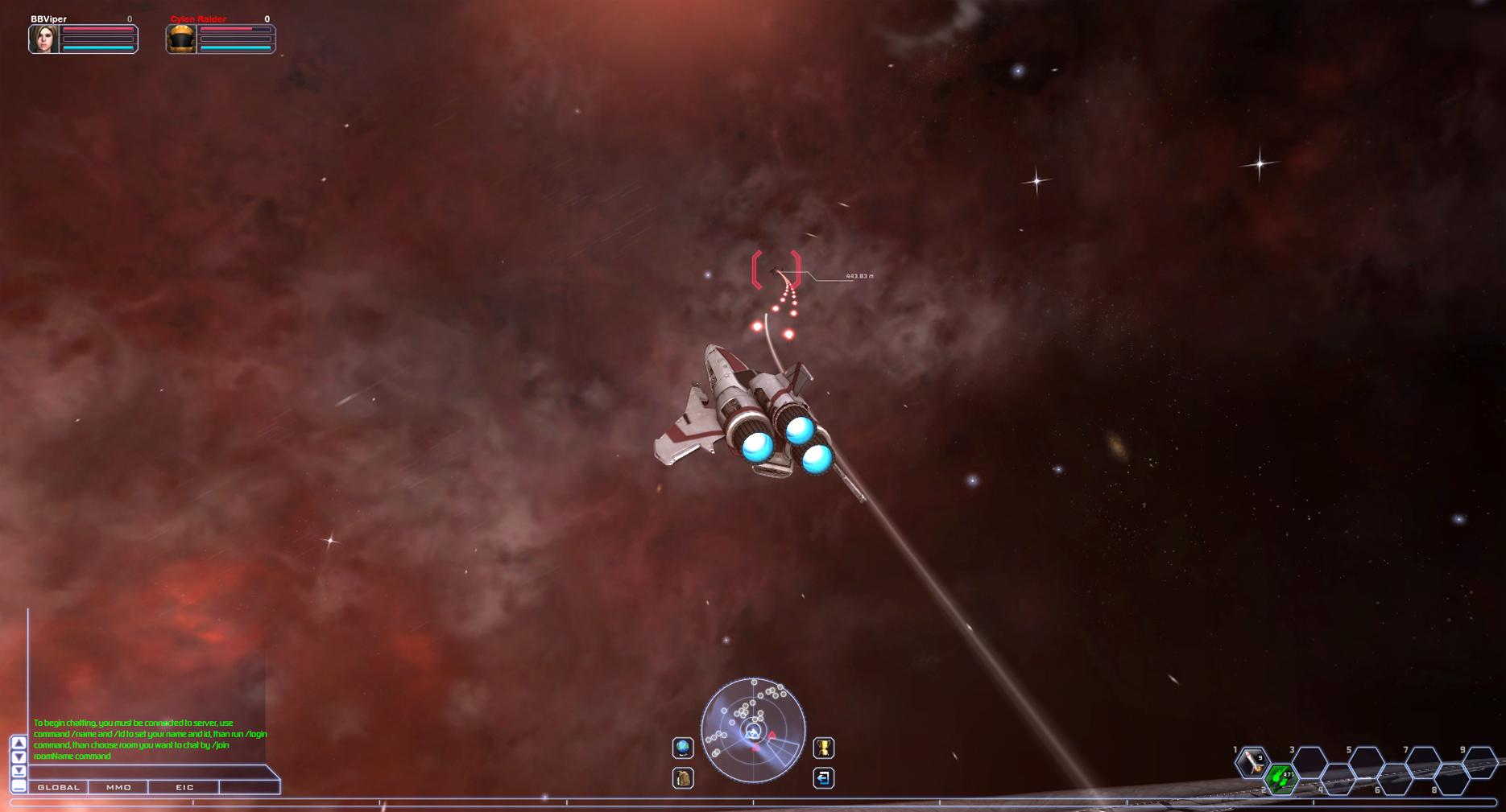 Browsergames Weltraum